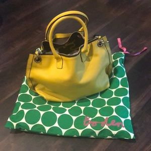 Yellow Boden bag with strap